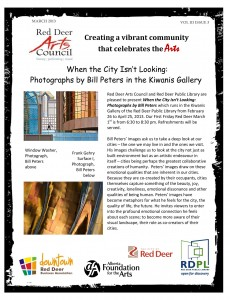 Red Deer Arts Council Newsletter- March 2013_1